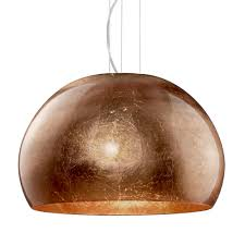 Copper Pendant Lights Ontario Copper Glass And Chrome Glass Pendant Light
