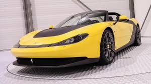 ferrari yellow rare ferrari sergio costs an unbelievable 5 million
