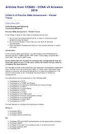 ccna 4 v5 practice skills assessment u2013 packet tracer