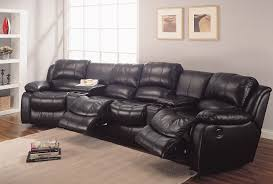 Home Theater Sectional Sofas 52 Reclining Theater Sectional Palliser Infineon Leather