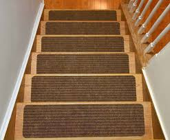 Stair Tread by Stair Treads Collection Set Of 13 Indoor Skid Slip Resistant Brown