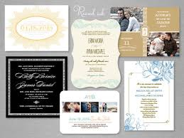 Customized Wedding Invitations Printed Wedding Invitations In Raised Ink