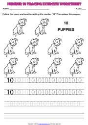 kindergarten numbers printable maths worksheets and exercises