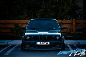 bmw e30 stanced feature 1993 bmw e30 roache productions