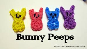easter bunny candy easter bunny peeps candy charm how to rainbow loom design easter