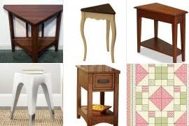 Triangle Accent Table Accent Tables Foter