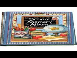 school memories album school memory album a collection of special memories photos and