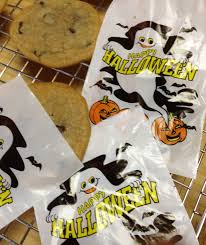 plastic halloween bags chewy chocolate chip cookies the lost apron