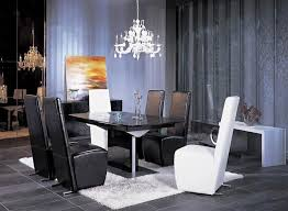 black dining room table set contemporary dining table set vg81 black modern dining
