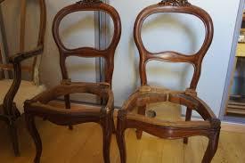 chaises louis philippe chaises de salle à manger louis philippe tapissier décorateur