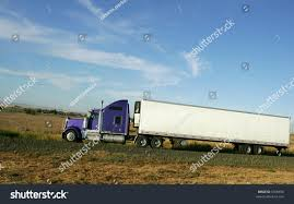 semi truck semi truck going hill on interstate stock photo 5308456 shutterstock
