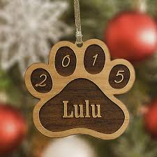 custom pet ornaments collars personalized tree