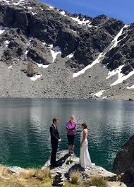 wedding gifts queenstown a mountain lake wedding ceremony lake alta queenstown new