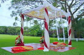 indian wedding decorations simple pretty outdoors indian wedding