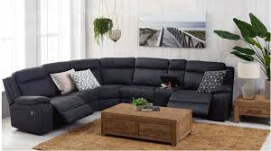 Corner Recliner Sofas Buy Vienna Fabric Corner Recliner Sofa Harvey Norman Au