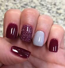 cranberry glitter u0026 silver nexgen nails love nail polish