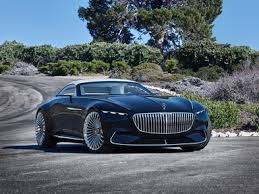 mercedes electric car mercedes maybach unveils a stunning all electric luxury