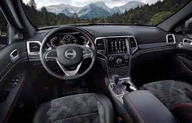 jeep grand cherokee interior 2018 jeep grand cherokee 2018 redesign review release date and engine