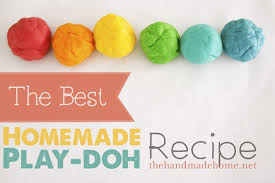the best homemade play doh color intro