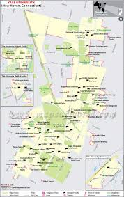 Ut Austin Campus Map by Where Is Yale University Located Yale University Loation Map