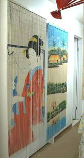 Room Divider Beads Curtain - oriental village bamboo beaded curtains gifts lamps room