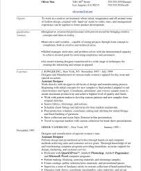 Hospitality Objective Resume Samples by Fashion Resume Examples Berathen Com