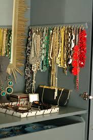 make necklace holder images Diy necklace hanger little green notebook jpg