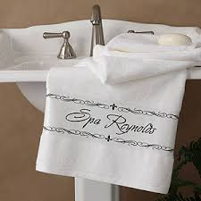 Fleur De Lis Bathroom Custom Personalized Fleur De Lis Bath Towel