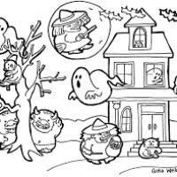 free hard halloween coloring pages bootsforcheaper