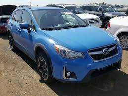 subaru black friday sale salvage 2016 subaru crosstrek suv for sale clean title