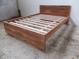 Minimalist Bed Frame Compact Hardwood Bed Frame 136 Timber Queen Bed Frame Sydney