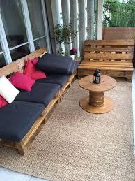 canapé d angle en palette canapé palette sur mesure sofas canapés d angle