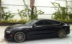 audi a7 modified audi a7 with savani rims exotic cars on the streets of miami