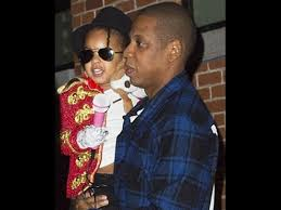 blue ivy carter dressed up in an amazing michael jackson costume