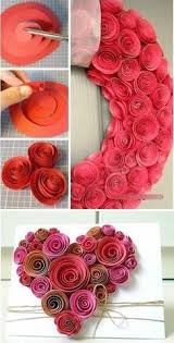 Paper Decoration For Valentine Day by Our Favorite Pins Of The Week Valentine U0027s Day Projects Paper