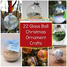 22 glass ornament crafts allfreechristmascrafts