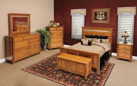 Furniture Bedroom Set Usa Made Furniture Amish Portland Oak Furniture Warehouseoak