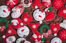 are felt christmas decorations the uk u0027s favourite create