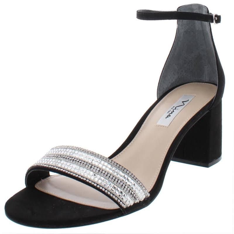 Nina Elenora Heels Black- Womens