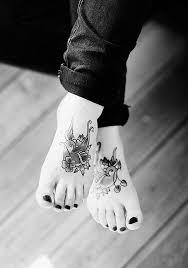 60 creative foot tattoo designs for women