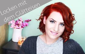 Bob Frisuren Locken by Locken Und Volumen Mit Dem Glätteisen Bob Styling Sponsored