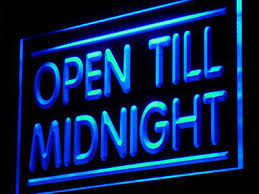 Open Light Up Sign J081 B Open Till Midnight Shop Cafe Bar Pub Light Sign What U0027s It
