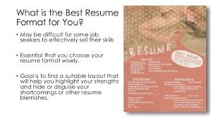 The Perfect Resume Format The Perfect Resume