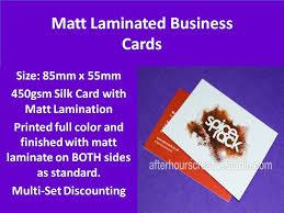 Matt Laminated Business Cards 36 Best Velvet Laminated Business Cards Images On Pinterest