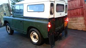 land rover series 1 for sale land rover series ii 2 1958 for sale youtube