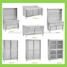 Fast Food Restaurant Stainless Steel Kitchen Storage Cabinet Buy - Stainless steel kitchen storage cabinets