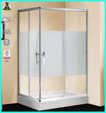Plastic Shower Doors Sliding China Best Price Curved Glass Shower Door Suppliers And