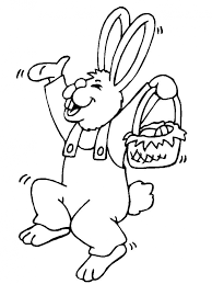 baby bunny coloring pages toddlers 85019