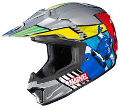 junior motocross helmets hjc youth cl xy 2 avengers helmet revzilla