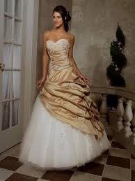 white wedding dress with gold beading gold and white wedding dress naf dresses